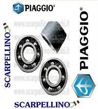 KIT 2 CUSCINETTI + BOCCOLA RUOTA PIAGGIO PORTER PIANALE -BEARING- 9004363242000