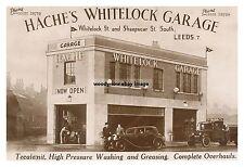 rp14258 - Hache's Whitelock Garage , Leeds , Yorkshire - photo 6x4