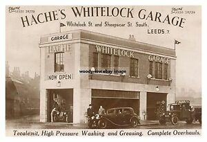 rp14258 - Hache's Whitelock Garage , Leeds , Yorkshire - photograph 6x4