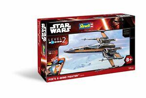 Poe's X-Wing Fighter Revell 1:50 Kit RV06692