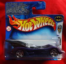 Batmobile / Batmobil purple / black - Hot Wheels - 2004 First Editions Blue Card