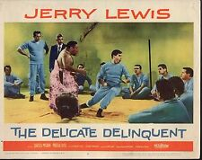 """Jerry Lewis The Delicate Delinquent Original 11x14"""" Lobby Card #M3430"""