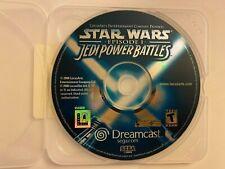 Star Wars Episode I Jedi Power Battles Sega Dreamcast