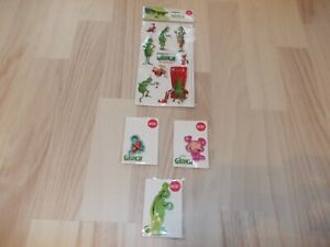 Fanpaket THE GRINCH Sticker und Magneten 12-teilig