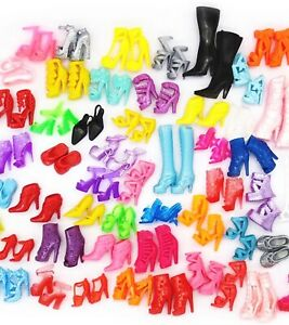NEW Lot Barbie Shoes, 20 Pairs,Premium Shoes, US Seller,same Day Ship