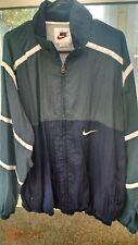 Vintage NIKE Full Zip Windbreaker Track Jacket - Lightly Lined - Size Large L