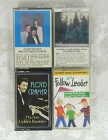 Lot of 4 Gospel Religious Christian Devotional Cassette Tapes