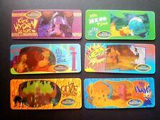 Full Set of 6 Shreddies Cheerios 3D Motion Cards 1997 Disneys Hercules Disney
