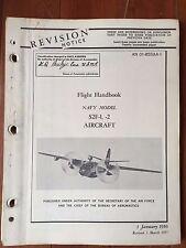 Flight Handbook for Navy Model S2F-1, -2 March 1957
