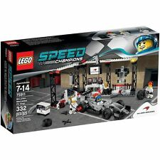 "LEGO® Speed Champions 75911 ""McLaren Mercedes Boxenstopp"" Formel 1 NEU & OVP!"