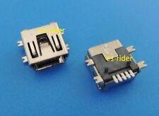 2 CONECTORES MINI USB 5 PIN HEMBRA PLUG SOCKET GPS TOMTOM TOM  (CORTO) SHORT GO