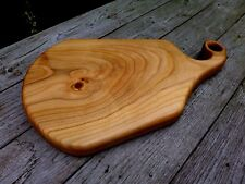 Wooden serving / chopping Cherry board, handmade and hand crafted only one