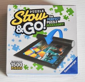 "RAVENSBURGER STOW & GO - PUZZLE STORAGE MAT - UP TO 1500 PCS. - 46"" x 26"""