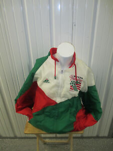 VINTAGE APEX ITALY NATIONAL MEN'S TEAM XL SEWN JACKET 1994 US WORLD CUP FINALS