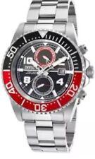 New Mens Invicta 18516 Pro Diver Black Dial Steel Bracelet Watch