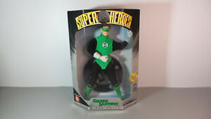 """NEW GREEN LANTERN DC SUPER HEROES SILVER AGE COLLECTION 1999 HASBRO 8"""" FIGURE a1"""