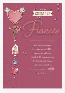 "Hallmark ""For my Gorgeous Fiancee: Valentine's Day Card"