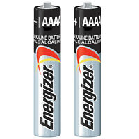 2pc Energizer E96 1.5v Alkaline Battery AAAA Replaces LR8D425 MN2500 USA SHIP