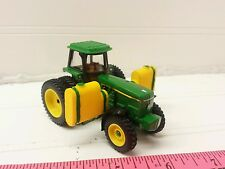 1/64 ERTL custom farm toy JOHN DEERE 4960 Tractor w/ Duals & side saddle tanks