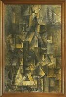 Classic Framed Pablo Picasso Ma Jolie Giclee Canvas Print