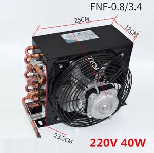 FNF-0.8/3.4 3.4m² 220V 40W 3/8HP condenser copper tube aluminum fin radiator