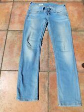 PEPE Jeans Tru-Blu VERA GA0 Slim Fit Röhrenjeans Dunkelblau Gr 28//34 oder 31//34