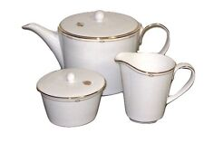 New listing Charms Monique Lhuillier Royal Doulton Tea Pot, Creamer Covered & Sugar