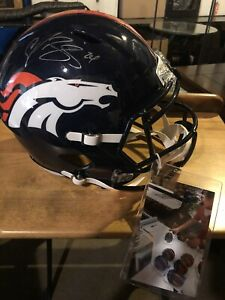 Champ Bailey Autographed Full Size helmet