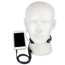 R-151 1Pin Earpiece Covert Air Tube Headset Throat Mic PTT for Mobile Phone Best