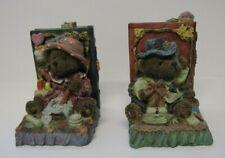"Bookend Teddy Bear Boy & Girl 5"" Tall"