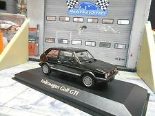 VW Volkswagen Golf MKI GTI Pirelli 1983 black schwar Minichamps Maxichamps 1:43