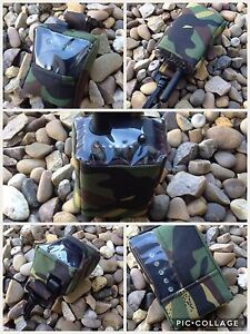 Peak angling products carp fishing receiver bite alarm pouch in camo