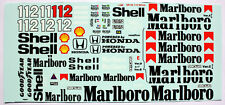 1/12 Mclaren Honda Mp4/4 Tamiya Ayrton Senna Model Car waterslide decal sticker
