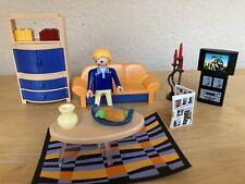 Playmobil Einfamilienhaus-modernes Wohnzimmer-3966