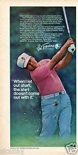 1970 Print Ad of Lee Trevino Sportswear Golf Clothing