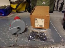 NEW HUBBELL 60 AMP PIN & SLEEVE WATERTIGHT CONNECTOR 480 VAC 3 PL 4 WR HBL460C