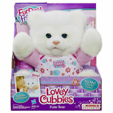 Hasbro FurReal Friends Polar Bear Lovey Cubbies Plush Interactive Toy 3+