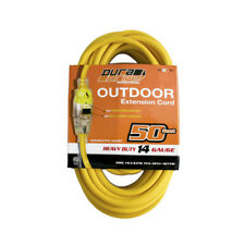 DuraDrive 11759 50 ft. 14/3 SJTW Single Tap Lighted Extension Cord