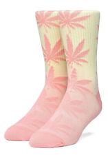 Huf Socks Socken Gradient Dye Coral Pink Hanf Marihuana Weed Cannabis Plantlife