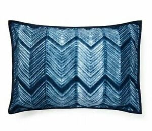Ralph Lauren Standard Pillow Sham Farrin  St. Jean Blue White NEW