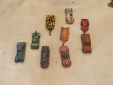 Vintage Lot Of Assorted Tootsietoy And Other Cars And Trailers