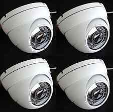 4x HD-CVI 1080p 2.4MP Motorized Zoom Auto Focus 2.8-12mm VF Dome Camera CMOS