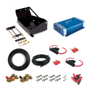 Boss 4WD DIY 20A DC-DC Dual Battery Kit suit Toyota Landcruiser 200 Series