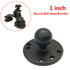 1 inch Round Ball Head Bracket Base Metal Aluminum Ball Head Plate For Ram Mount