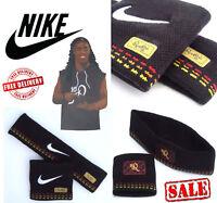 Nike Ronaldinho Mens Sports Tennis Sweatbands Football Headbands Wristbands Pack