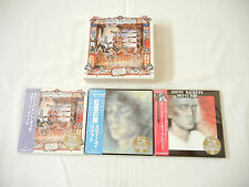 Steve Hackett JAPAN 3 titles Deluxe Edition Mini LP SHM-CD DVD PROMO BOX SET