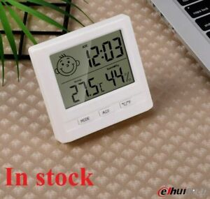 Baby room Hanging Mini Digital Thermometer hygrometer thermo-hygrometer clock