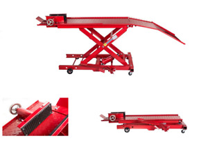 Table de levage hydraulique pour moto 360kg pont elevateur moto