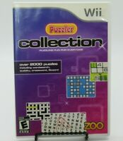 PUZZLER COLLECTION GAME FOR NINTENDO Wii, GAME DISC, CASE, MANUAL, SUDOKU, CROSS