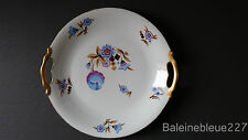 Vintage French art deco porcelain platter bowl fruit cup Limoges 1930 pastry